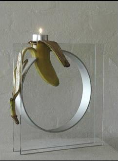 Blød banan på prøve (30 x 30)